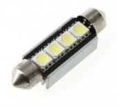 Светодиод 24V синий FT-5050-4SMD Aluminum Housing 41MM-Canbus nonpolarity Китай